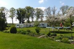 Camperplaats-voorjaar