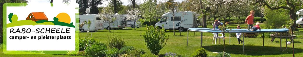 Camper- en pleisterplaats Rabo-Scheele